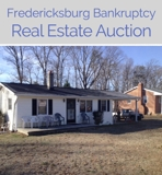 By order of the U.S. Bankruptcy Court Real Property Online Internet Auction VA