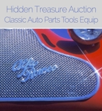 URGENT Short Notice!! INSPECT FRIDAY Tools Classic Auto Parts Hidden Treasure Auction