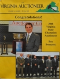 Virginia's 37th Annual State Champion Auctioneer Contest