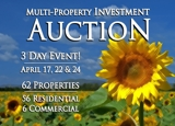 (62) Wichita Area Multi-Property Auction