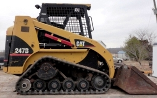 Cat 247B track skid steer: CAT 247B track skid steer with 1900 hrs!