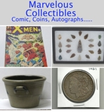 CLOSING WEDNESDAY Marvelous Collectibles Online Internet Auction VA