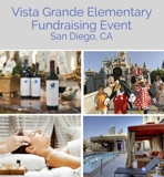 Vista Grande Elementary Fundraising Online Internet Auction CA