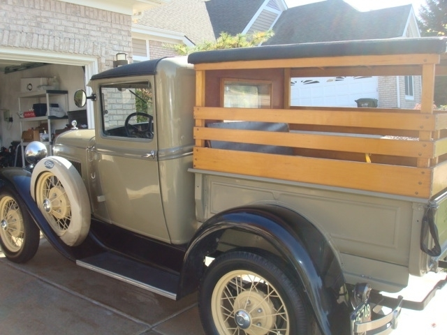Auction 1931 Ford Model A Pickup Stanton S Auctioneers