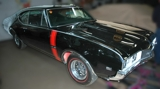 Auction: 1968 Olds 442 Black Coupe