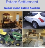 Estate Settlement Online Internet Auction VA
