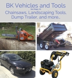 Bankruptcy Vehicle and Tools Online Internet Auction CA
