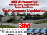 RBX Automotive Business Liquidation