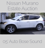 NISSAN MURANO Online Internet Auction VA