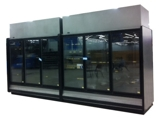 Glass Doors Self Contained Units