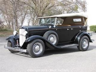 1932 Ford Phaeton Soft Top Convertible Ignite Auctions