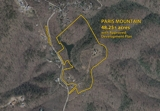 For Sale - Acreage Tract on Paris Mountain