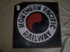"LOT 85  ""NORTHERN PACIFIC RAILWAY METAL SIGN"":"
