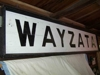 "LOT 84  ""WAYZATA WOOD DEPOT SIGN"":"