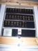 LOT 184  &quot;MOUNTED DISPLAY OF 28 RAIL ROAD KEYS&quot;: 