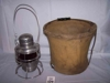 LOT 164  &quot;CANVASS BUCKET - SHORT GLOBE LANTERN&quot;: 