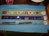 LOT 92  &quot;3 TRAYS OF ID BANDS, KEY CHAINS, STAMPS&quot;: 