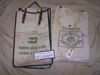 LOT 70  &quot; 2 CANVAS DOCUMENT BAGS&quot;: 