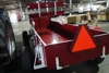 Lot # 306 IH McCormick Farmall Wagon with buggy seat, looks brand new!!: