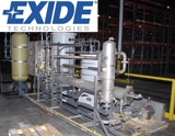 AVAILABLE NOW - SURPLUS ASSETS FROM THE ONGOING OPERATIONS OF EXIDE TECHNOLOGIES