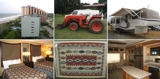 DAY 2 - Myrtle Beach Condo, Camper, Tractor, Trailers and Art Collection - Online Only Auction