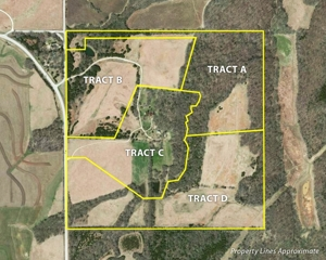 MULTI-PARCEL LAND & HOME AUCTION  -  Lawrence, KS Area