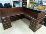 INSPECT THUR! SHORT NOTICE! va office furniture auction local pickup only