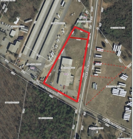 ABSOLUTE AUCTION-Estate Owned Industrial Bldg in Greenville, SC