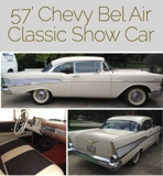 Short Notice! Classic Car 57 Bel Air Internet Auction Ohio