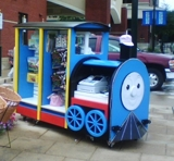 Tommy The Train Kiosk Business Online Auction Md