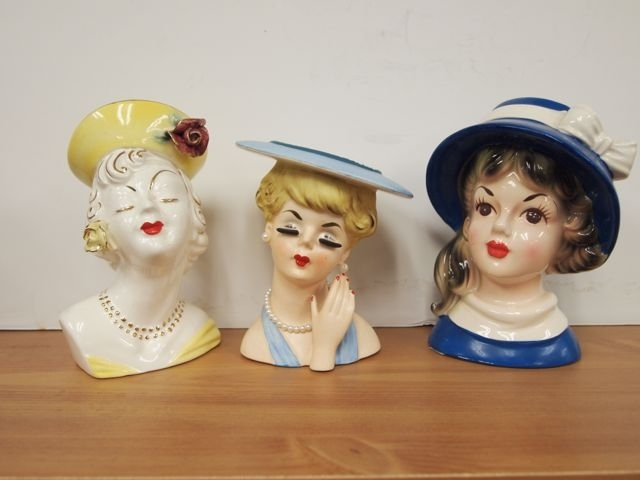Head Vase Collection Tom Hall Auctions
