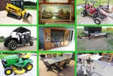 Super Clean Acreage & Lawn and Garden Equipment, Big Boys Toys and Collectibles Relocation Auction