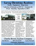 Leroy Christian Auction