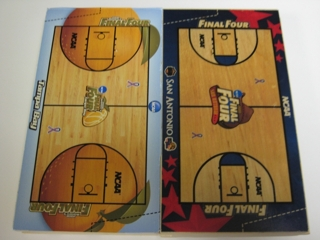 (2) PROFESSIONAL GRADE BASKETBALL COURTS