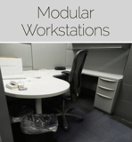 Modular Workstations Office Auction Maryland