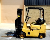 HEAVY DUTY INDUSTRIAL HYSTER FORKLIFT MODEL S35XL, NATURAL GAS POWERED, IN GREAT WORKING ORDER!