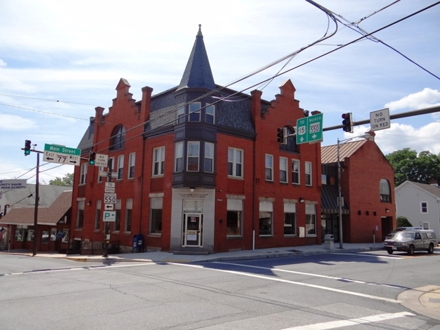 Absolute Auction of Former Bank Branch in Thurmont, MD (Frederick Co.)