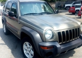 PRIVATE ASSET AUCTION! A 2004 JEEP LIBERTY SPORT, 4-DOOR SUV, 4X4 AUTOMATIC TRANSMISSION, A MUST SEE!