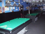 FULLY EQUIPPED POOL HALL