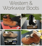 Kountry Kickin' Western & Work Wear Boot Auction, PART ONE Online Auction OH