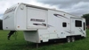 2001 33' Hitchhiker II 5th wheel camper with 3 slides: