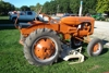 C Allis Chalmers with belly mower-restored- carb redone-nice: