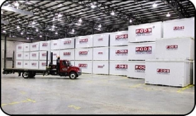 Unpaid Self Storage Auction PODS Containers
