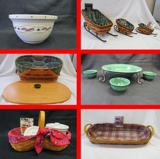 Online Only Collector Longaberger Basket Auction