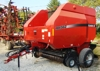 Case IH RBX562 5x6 round baler-with monitor-excellent condition: