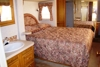 2001 33' Hitchhiker II bedroom & bathroom area: