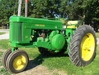 John Deere 70 narrow front, restored, add on 3 pt.: