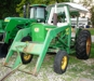 John Deere 2020 50 HP, gas with loader-runs good: