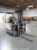 Warehouse with Forklifts and Packaging Systems