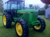 J.D. 2950 4x4, FW assist, 85 HP, cab, good glass, 4875 hrs.: